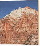 Zion Red Rock Wood Print