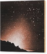 Zodiacal Light Wood Print