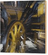 Zoom Rail Wood Print