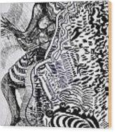 Zulu Dance - South Africa Wood Print