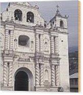 Zunil Church Guatemala Wood Print