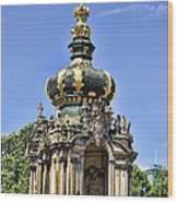 Zwinger Palace Crown Gate Wood Print