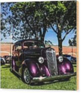 1939 Chevy Coupe Wood Print