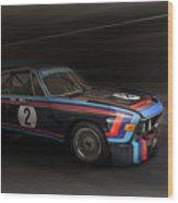 1974  Bmw 3.0 Csl Batmobile Wood Print