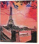 # 9 Paris France Wood Print
