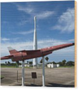Air Force Museum At Cape Canaveral  Wood Print