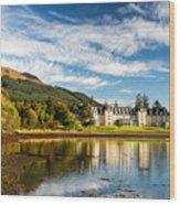 Ardgartan On The Banks Of Loch Long Wood Print