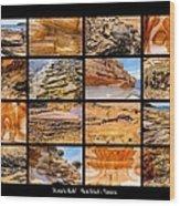 ' Australia Rocks ' - Maria Island - Tasmania Wood Print