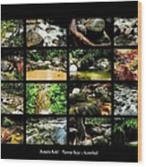 ' Australia Rocks ' Mossman Gorge - North Queensland Wood Print