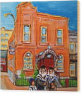 Beautiful Synagogue On Bagg Street Wood Print