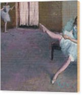 Before The Ballet Wood Print