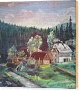 Black Forest Germany Wood Print