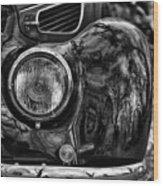 Bmw 327 Cabrio Wood Print