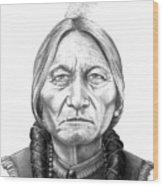 Chief Sitting Bull Wood Print