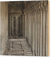 Closed Door Wood Print