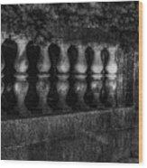 Columns And Pine Wood Print