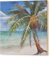 Dessert Palm Wood Print