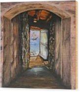 Door Of No Return Wood Print