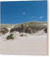 Dunes Of Danmark 2 Wood Print
