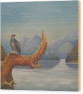 Eagle Bird Of Freedom Wood Print