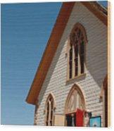 Episcopal Church  Wood Print