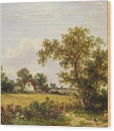 Essex Landscape  Wood Print