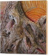 Expression Caves Wood Print