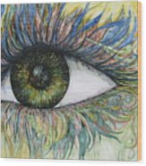 Eye For Details Wood Print