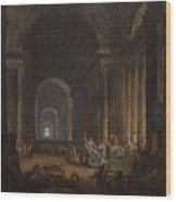 Finding Of The Laocoon Wood Print