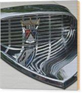 Ford Chrome 13124 Wood Print