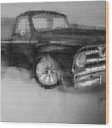 Ford Pick Up Wood Print