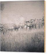 Gettysburg Confederate Infantry 9112s Wood Print