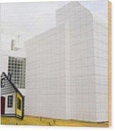 High Museum Of Art - Atlanta - Usa Wood Print