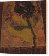 Hope Flower  Wood Print