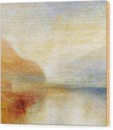 Inverary Pier - Loch Fyne - Morning Wood Print by Joseph Mallord William Turner