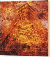 C H I C H E N  .  I T Z A .  Pyramid Wood Print