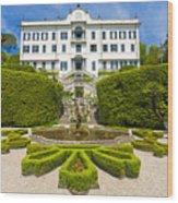 Lake Como,villa Carlotta, Italy Wood Print