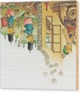Lisas Journey11 Wood Print