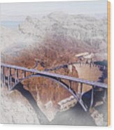 Mike O'callaghan Pat Tillman Memorial Bridge Wood Print