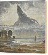 Mount Stetind Wood Print