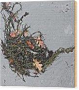 Natures Teapot # 2 Wood Print