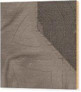 Oak Leaf Abstract Wood Print
