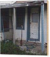 Old Porch Wood Print