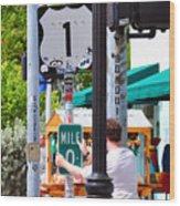 # One Stolen Sign Key West  Wood Print