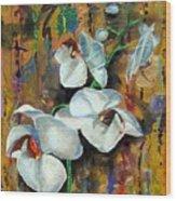 Orchid Yo Wood Print