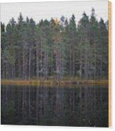 Pitkajarvi 3 Wood Print