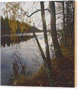 Pitkajarvi Wood Print