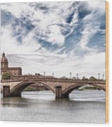 Ponte Alla Carraia, Firenze Wood Print