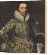 Portrait Of A Nobleman Wood Print