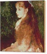 Portrait Of Mademoiselle Irene Cahen D'anvers Wood Print